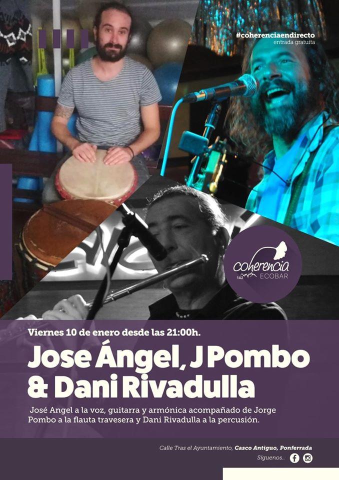Concierto de José Ángel, J Pombo y Dani Rivadulla 1
