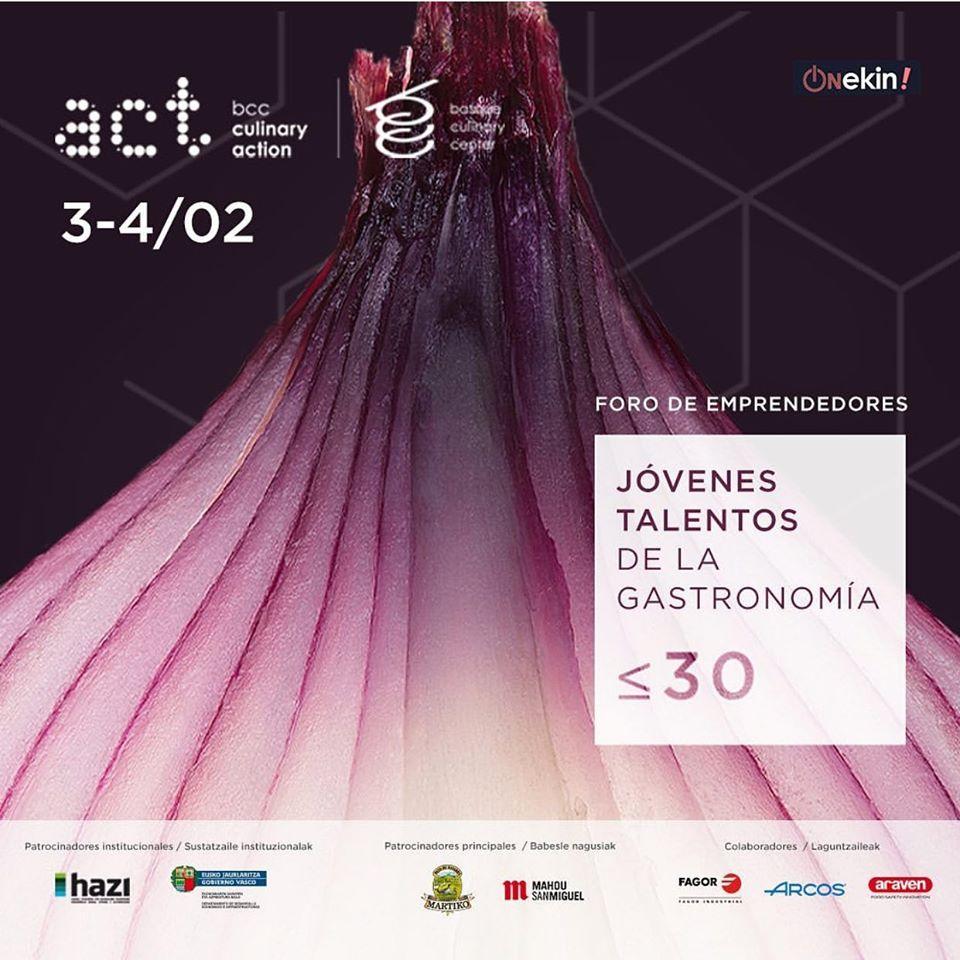 Los cocineros del MU-NA convocados al Foro Jóvenes Talentos que organiza el Basque Culinary Center 1