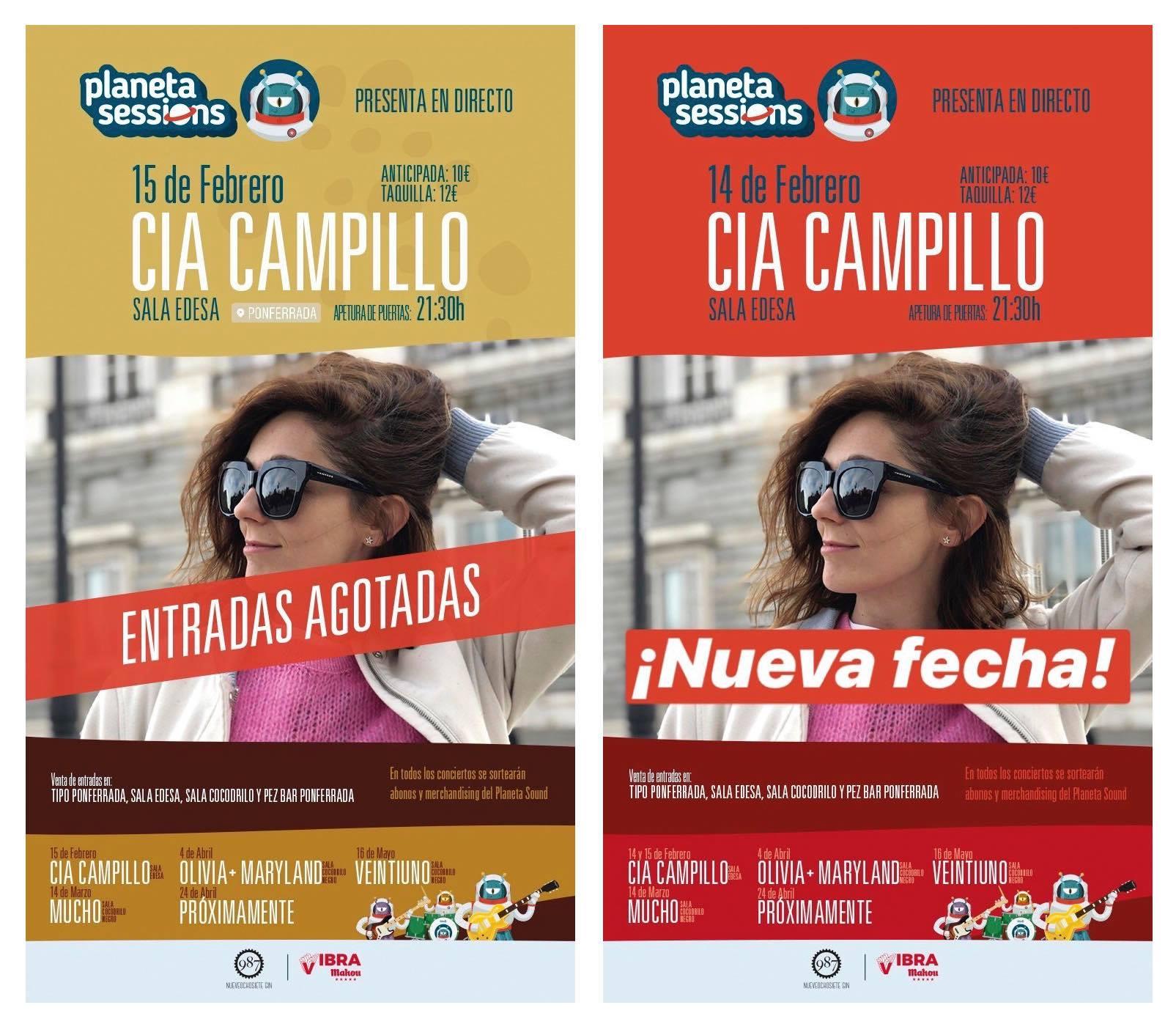 Cia Campillo agota entradas para la presentación de 'El poder azul' y amplía una fecha más 1
