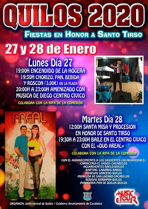 Grandes FIestas en Quilós en honor a Santo Tirso 1