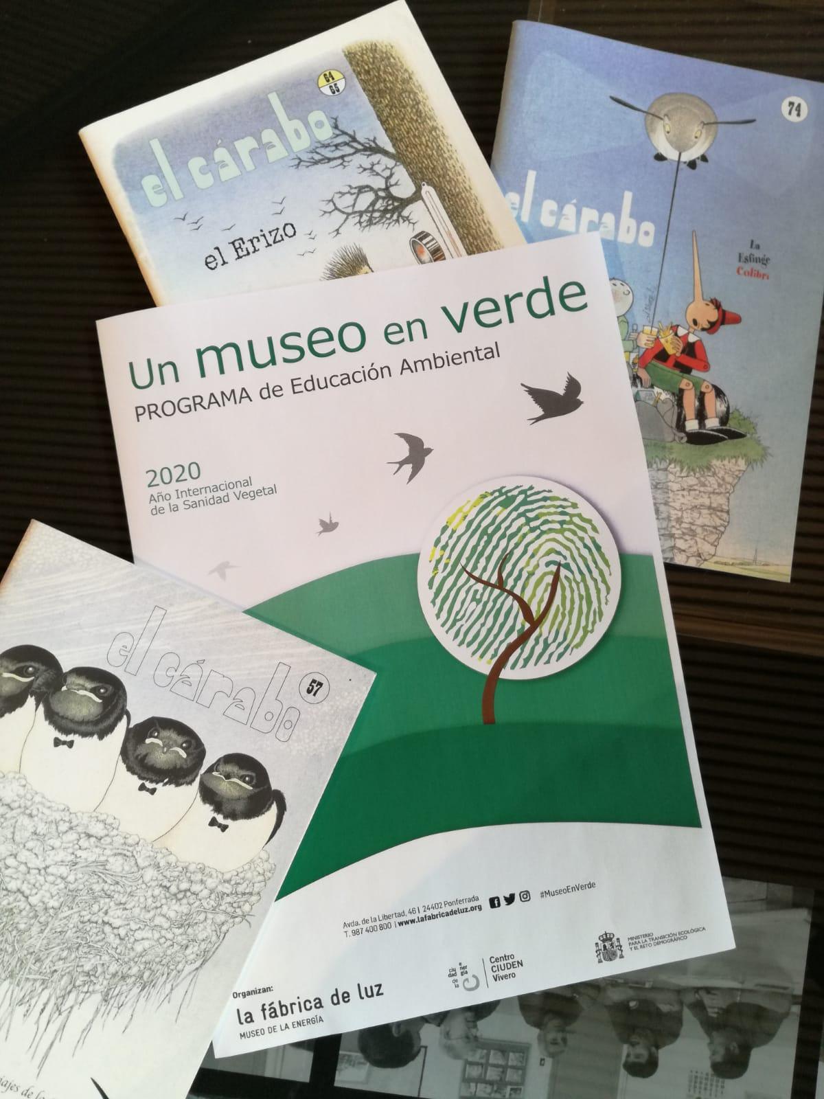 """CIUDEN Vivero y el Museo de la Energía presentan el programa de educación ambiental """"Un museo en verde"""" 1"""