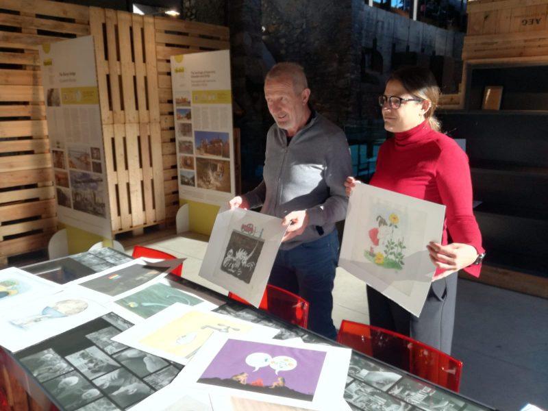 El Museo de la Energía presenta las obras seleccionadas para la intervención artística del puente del Centenario 1