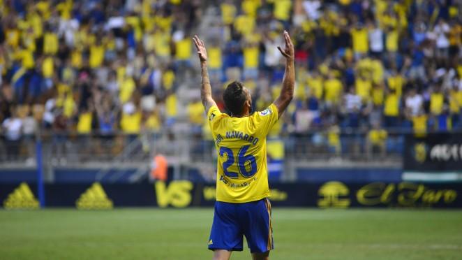 la deportiva confirma la llegada de Javi Navarro desde el Cádiz 1