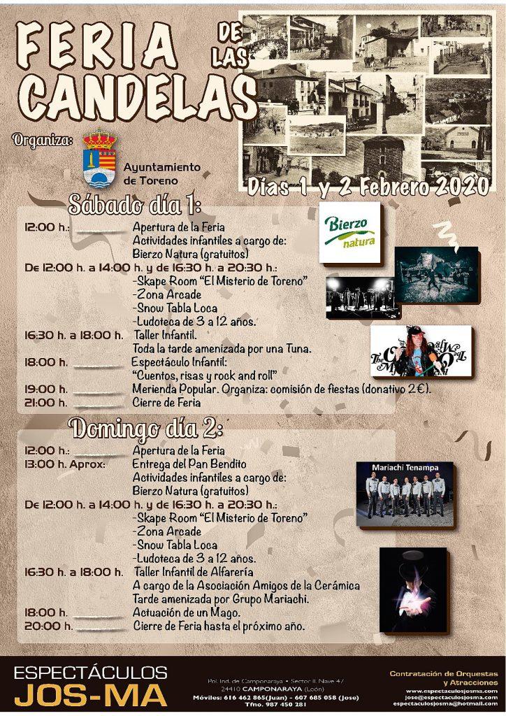 La Feria de Las Candelas abre el mes de febrero en Toreno 1