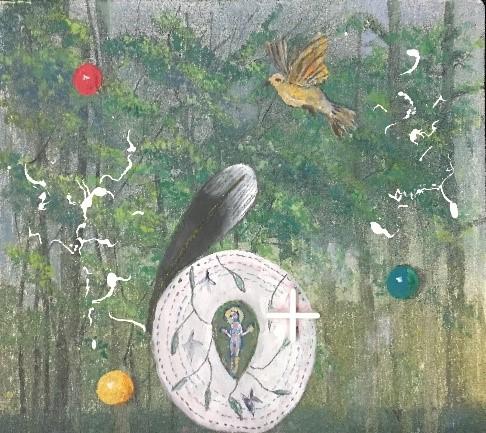 Exposición de pintura de Teresa Gancedo 1