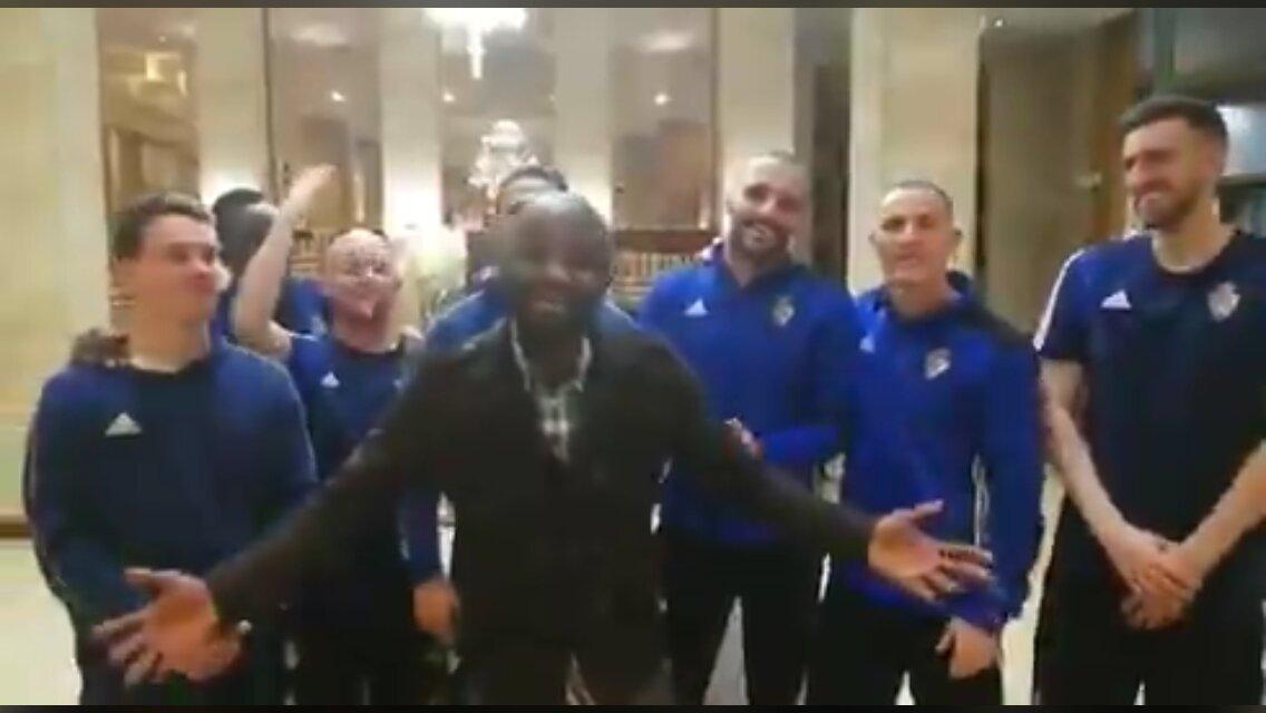 El vídeo de la Ponferradina y Nguema se hace viral ¡Ooooh! 1