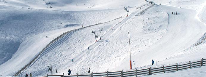 Las estaciones de esquí de la provincia ofrecen 23 Kilómetros esquiables para el fin de semana 1