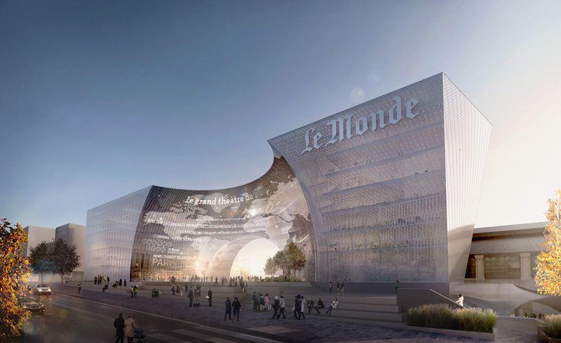 Así será la espectacular sede de Le Monde cubierta con vidrio 'Made in Bierzo' 1