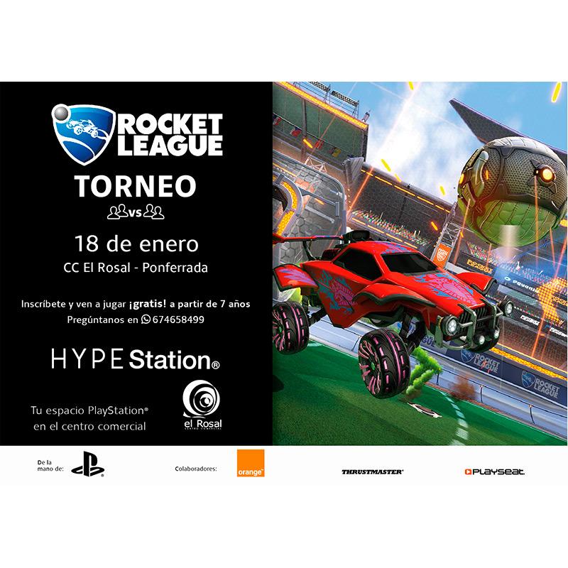 TORNEO ROCKET LEAGUE en HypeStation de El Rosal 1