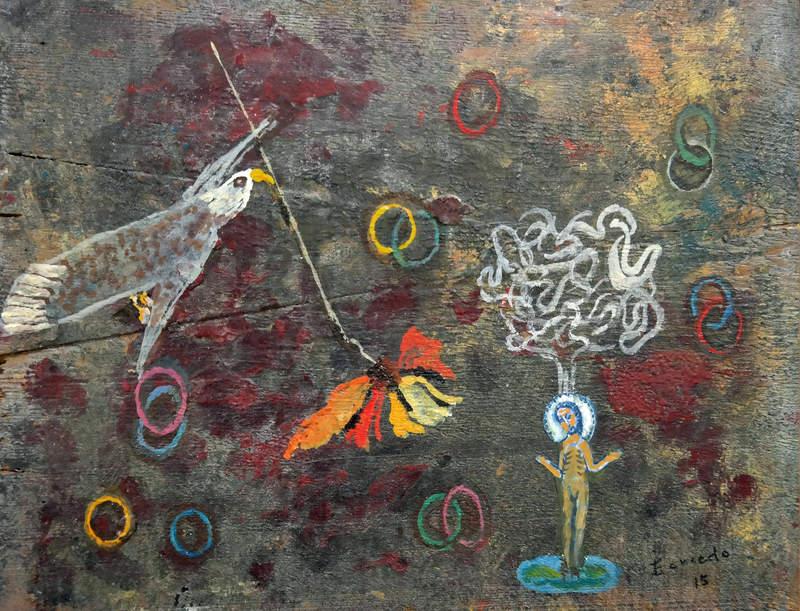 Exposición de pintura de Teresa Gancedo en la Casa de las Culturas de Bembibre 1