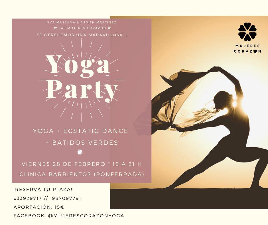 Yoga Party en Clínica Barrientos 1