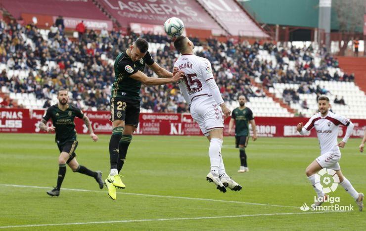 La Deportiva se deja la victoria en tiempo de descuento en casa de un gris Albacete (1-1) 1