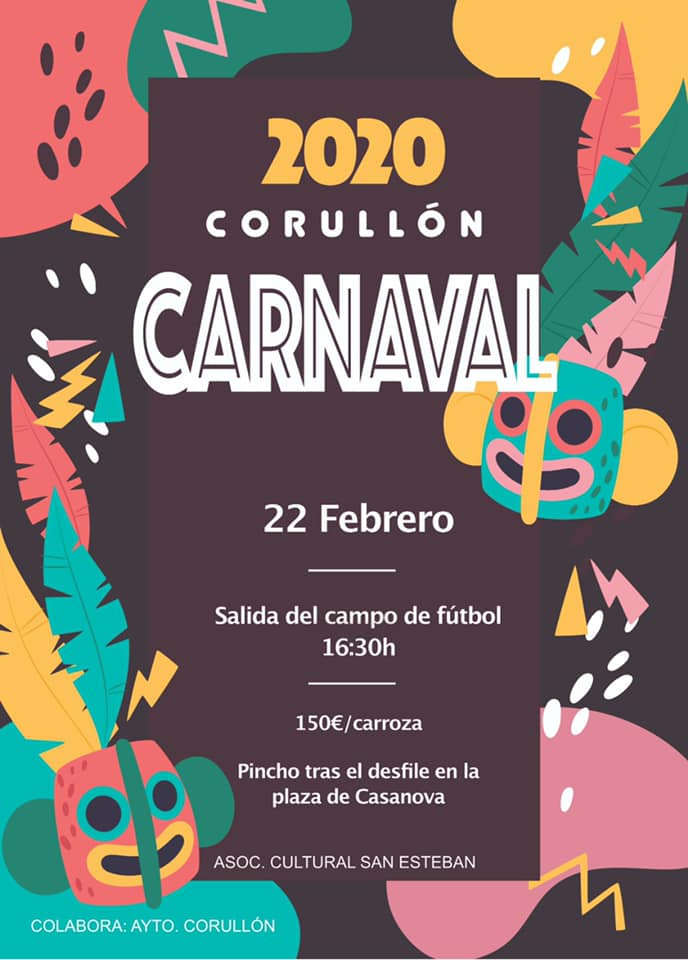 Carnaval 2020 en Corullón 1