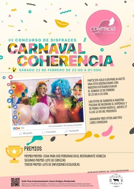 III Concurso de disfraces Carnaval Coherencia 1