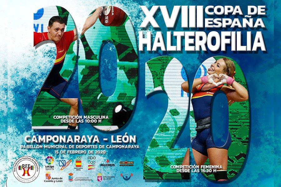 Camponaraya celebra la XVIII Copa de España de Halterofilia con la vuelta a casa de Lydia Valentín 1