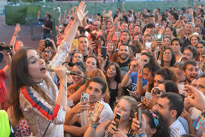 Zahara regresa a Ponferrada en abril dentro de la Gira #vibraMahou y Planeta Sessions 1