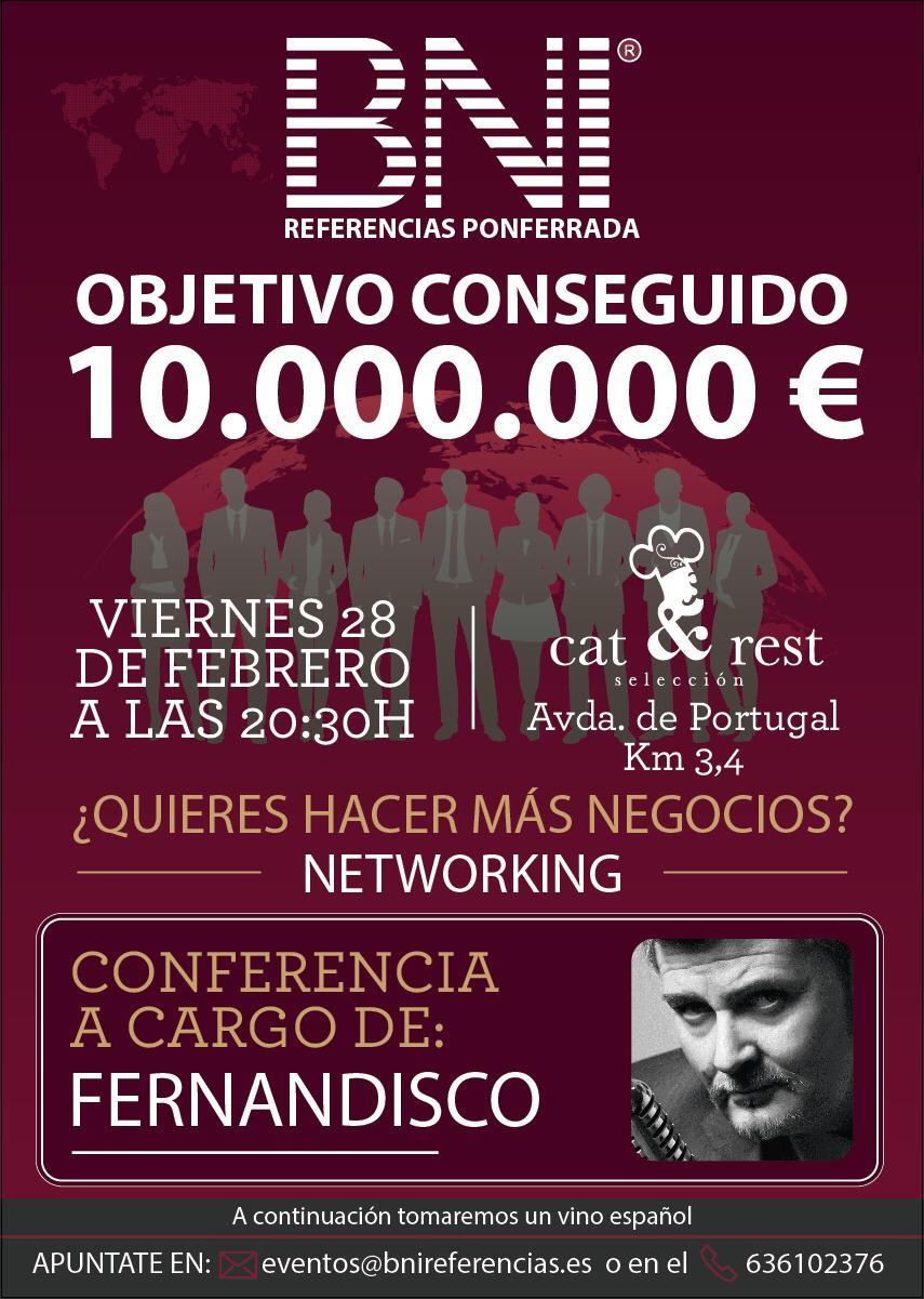 BNI Referencias alcanza los 10m de € de beneficio y lo celebrará con una gala 1