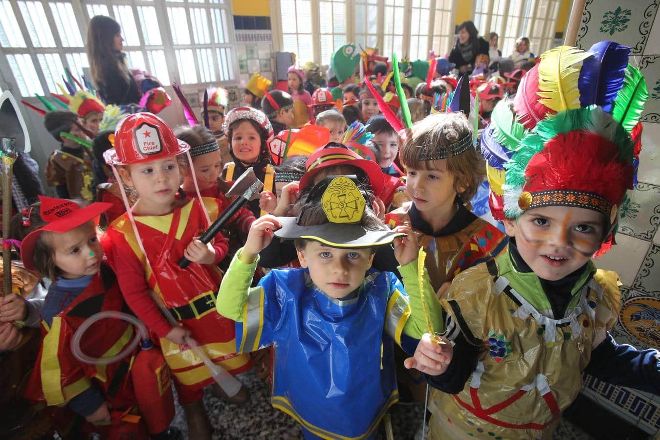 Carnaval 2020 con niños en el Bierzo 1