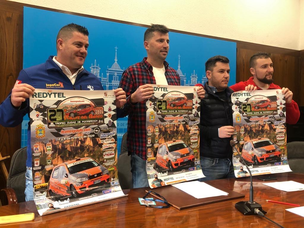 El fin de semana rugirán los motores con la XXVII edición del Rallye del Bierzo Ciudad de Ponferrada 1