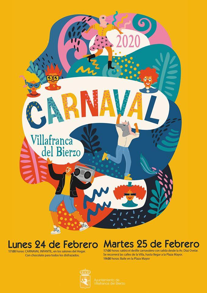 Carnaval 2020 en Villafranca del Bierzo 1