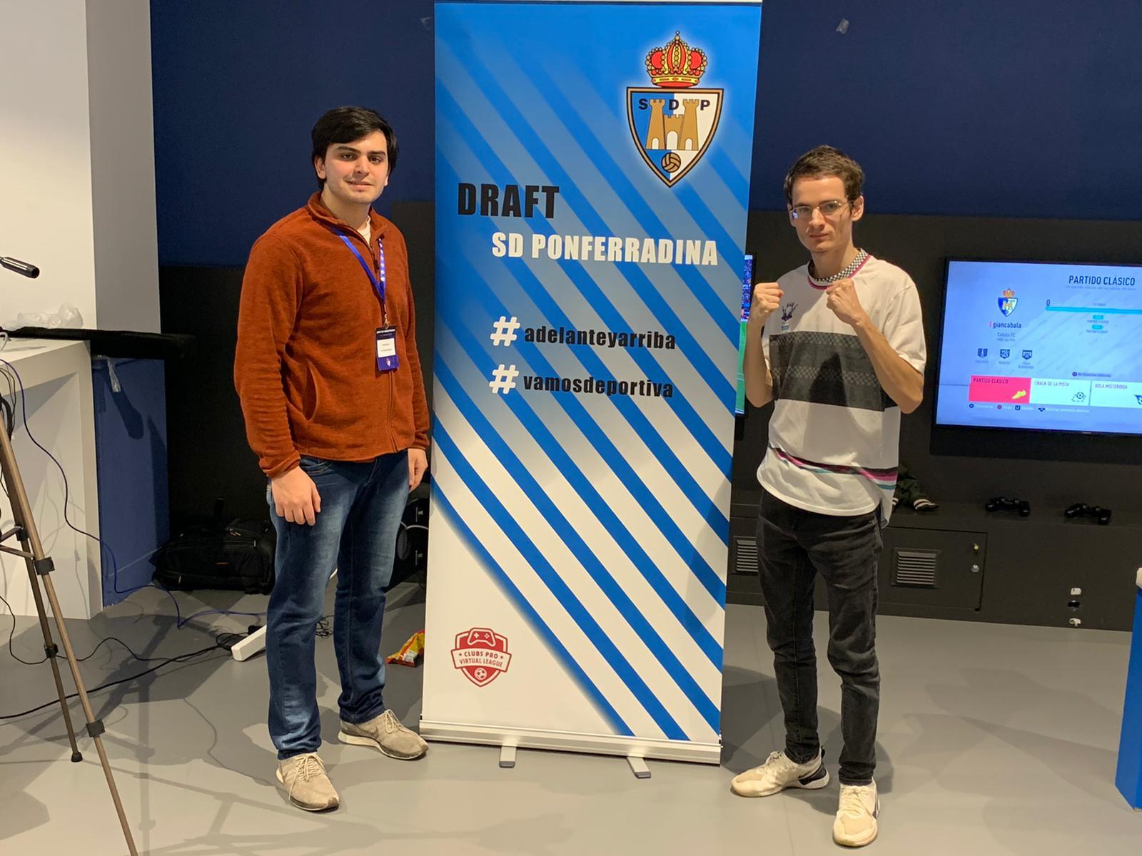 Jordi Blanco de Fabero, junto a Paco Bulnes serán los representantes de la Ponferradina en ELaLiga Santander 1