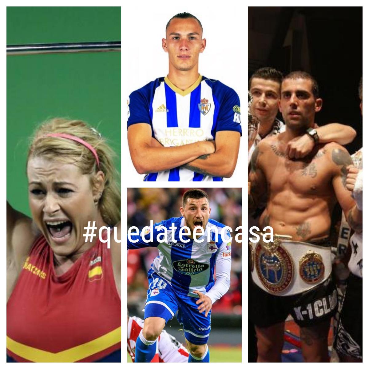 Así viven nuestros deportistas el #quedateencasa 1