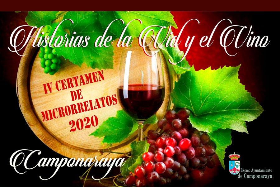 Historias de la Vid y el Vino, el Ayuntamiento de Camponaraya convoca el IV Certamen de Microrrelatos. 1