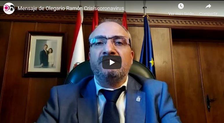 El Alcalde de Ponferrada manda un videomensaje para informar y tranquilizar a la población 1