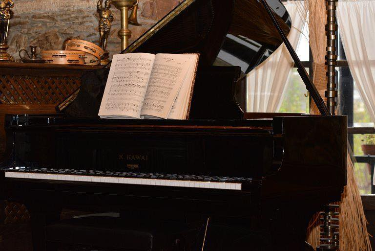 Desayuno en La Moncloa acompañado de Cristina G.Zabaleta al piano 1