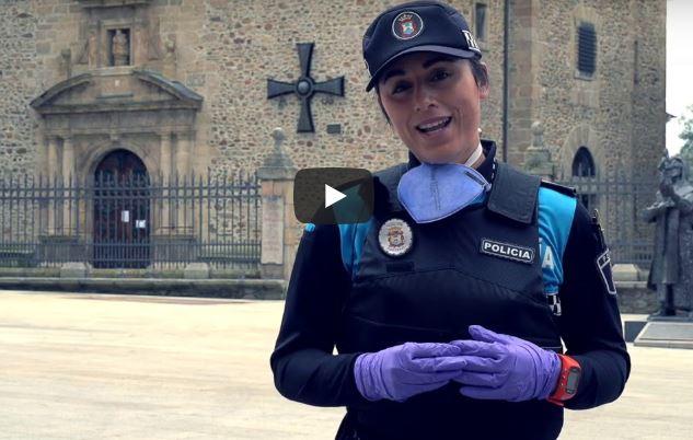 Ayuntamiento y Policia Municipal de Ponferrada te lo piden en un vídeo: @quedateencasa 1