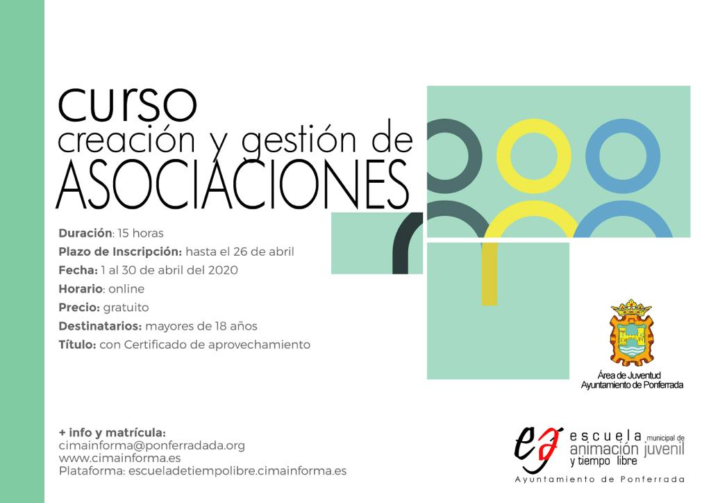 Ponferrada organiza un curso de creación y gestión de asociaciones 1
