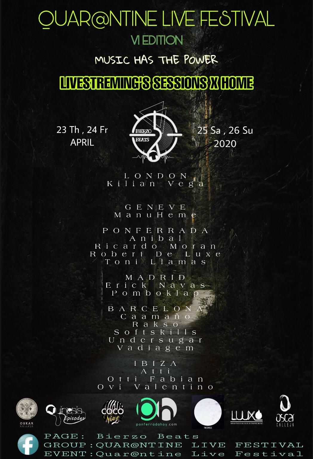 Quar@tine Live Festival le pone banda sonora al puente 1