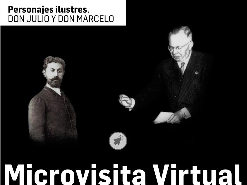 El domingo, en directo, nueva Microvisita virtual al museo de la Energía | Personajes ilustres, don Julio y don Marcelo 1