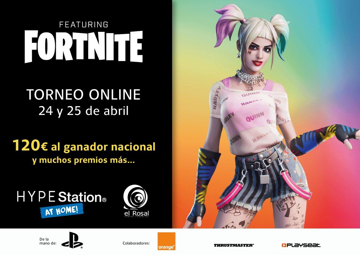 La HypeStation del CC El Rosal organiza un Torneo de Fortnite desde tu domicilio 1