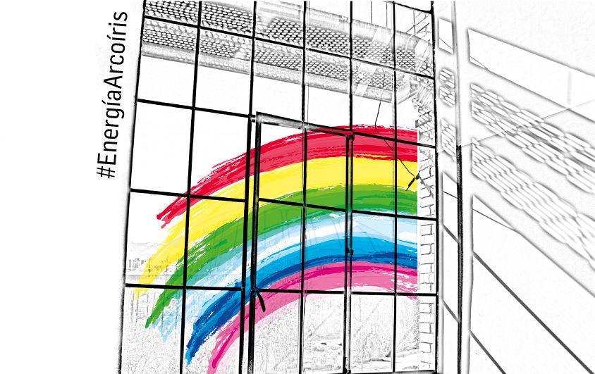 El Museo de la Energía organiza una exposición virtual con creaciones del público y con el arcoíris como tema central 1