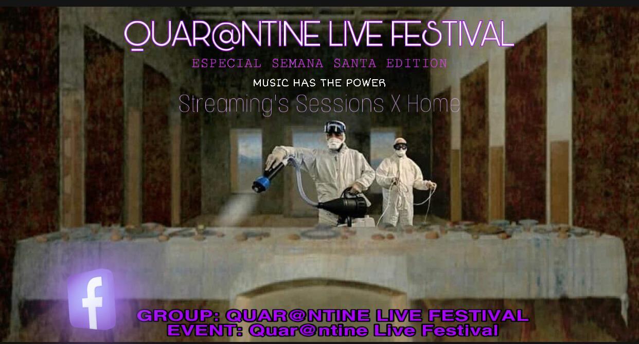Quar@ntine Live Festival: Djs locales organizan un evento global de música electrónica en streaming durante la Semana Santa 1