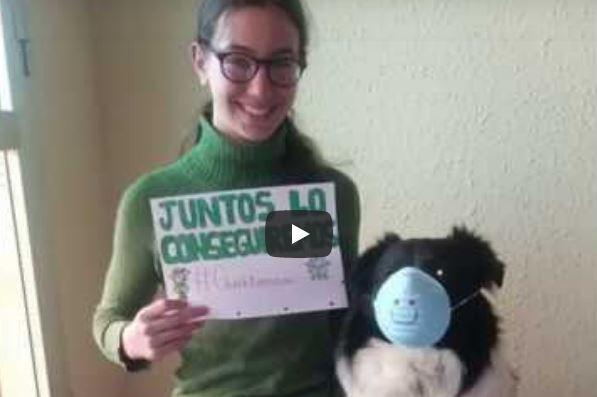 La Casa de Andalucía publica un vídeo de ánimo realizado por sus asociados 1