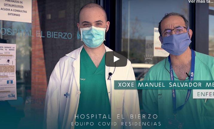La Gerencia de Asistencia Sanitaria del Bierzo publica un vídeo que nos recuerda las medidas a seguir 1