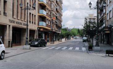 Las calles Camino de Santiago y Ancha se reabrirán al tráfico los fines de semana 2