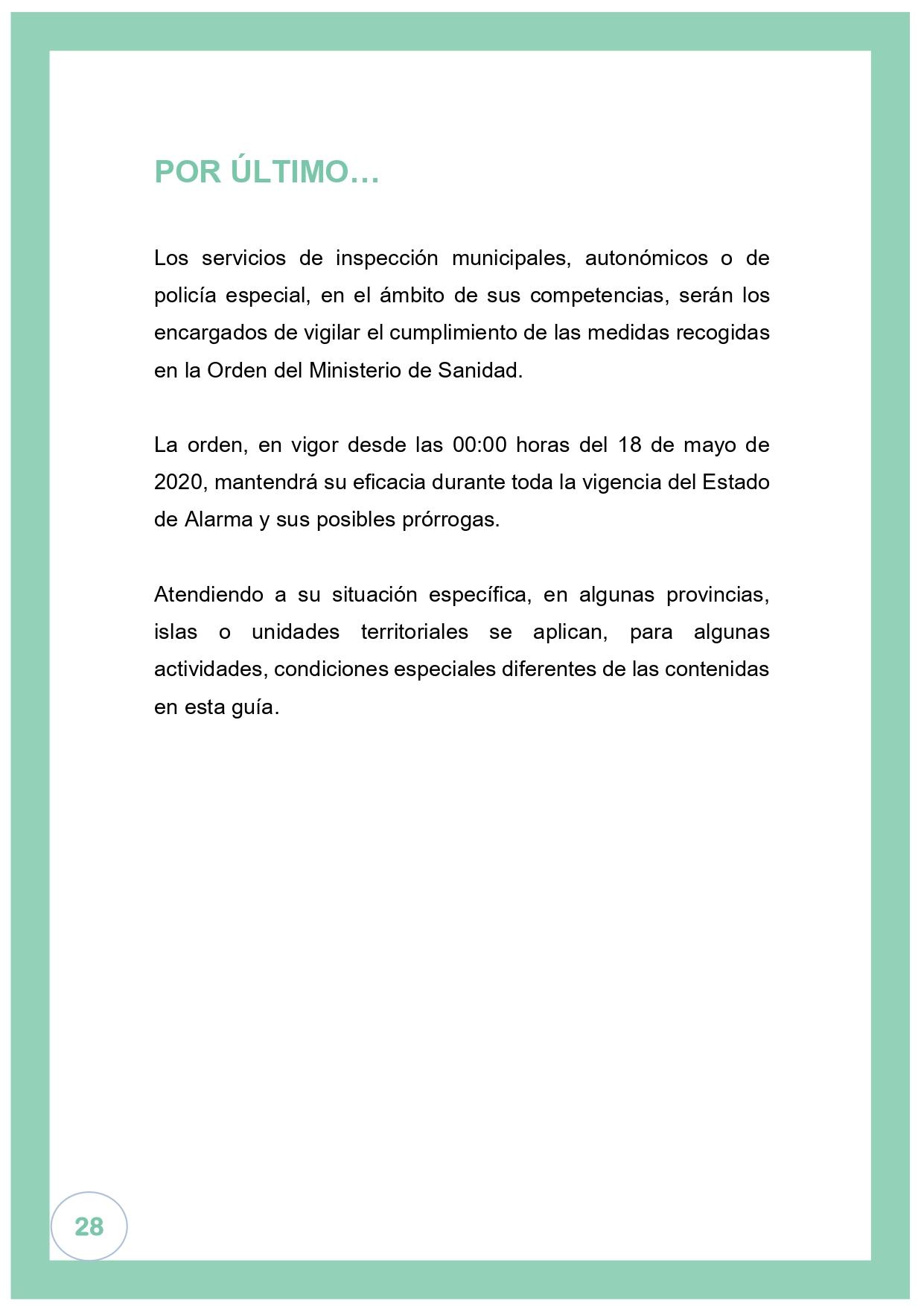 El gobierno oficializa que el Bierzo y Laciana pasan a la fase 2 el lunes 1 de junio 31