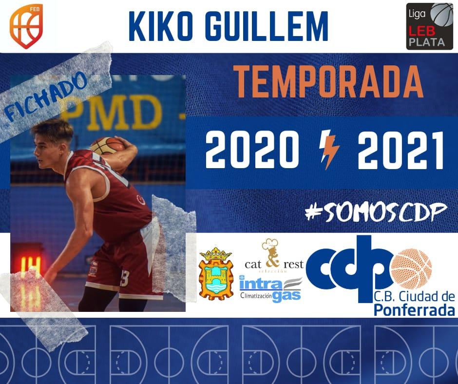 Kiko Guillem, primera incorporación para la temporada 20/21 1