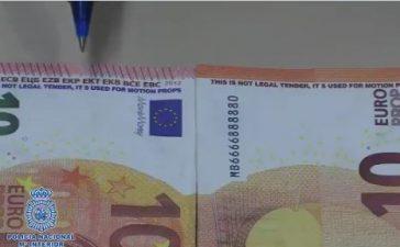 La Policía Nacional muestra en un vídeo cómo identificar unos nuevos billetes falsos 3