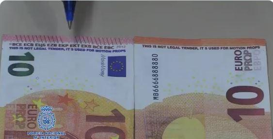 La Policía Nacional muestra en un vídeo cómo identificar unos nuevos billetes falsos 1