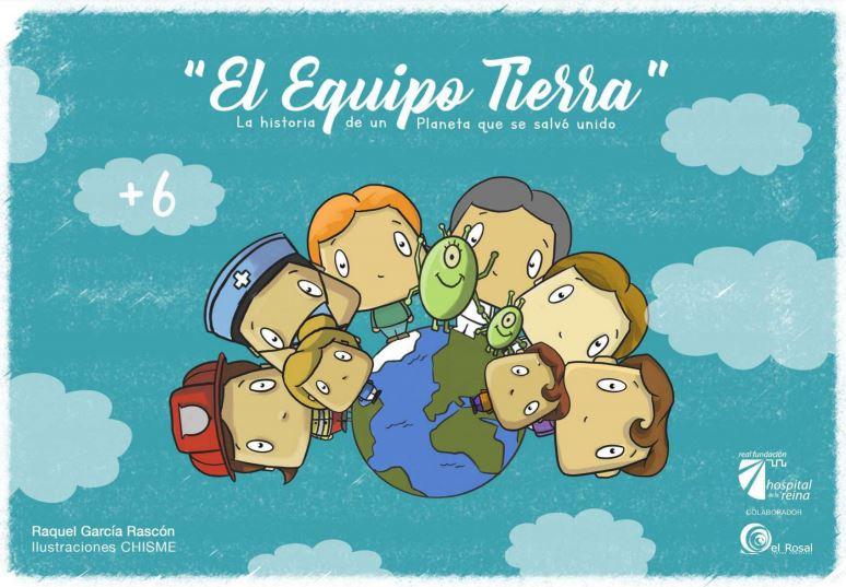 La Fundación Hospital de la Reina y el C.C El Rosal editan un cuento infantil que busca concienciar a los más pequeños de la importancia de las medidas preventivas frente a la Covid-19 1