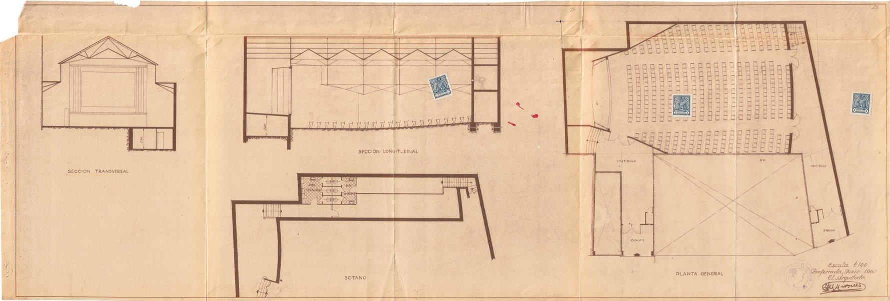 La Casa de la Cultura de Ponferrada recuerda el desaparecido Teatro Adriano en la exposición online 'La arquitectura de la ciudad del dólar' 4
