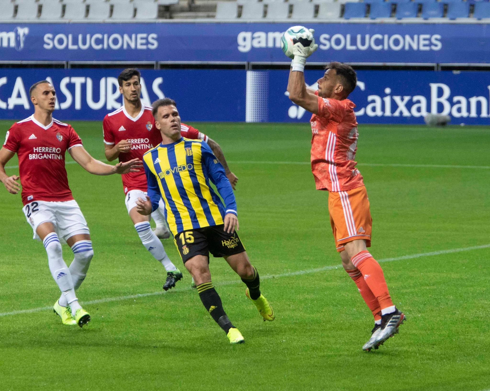 Real Oviedo 0 - SD Ponferradina 0. La Deportiva regresa de Oviedo con la sensación de haber dejado escapar los tres puntos 13