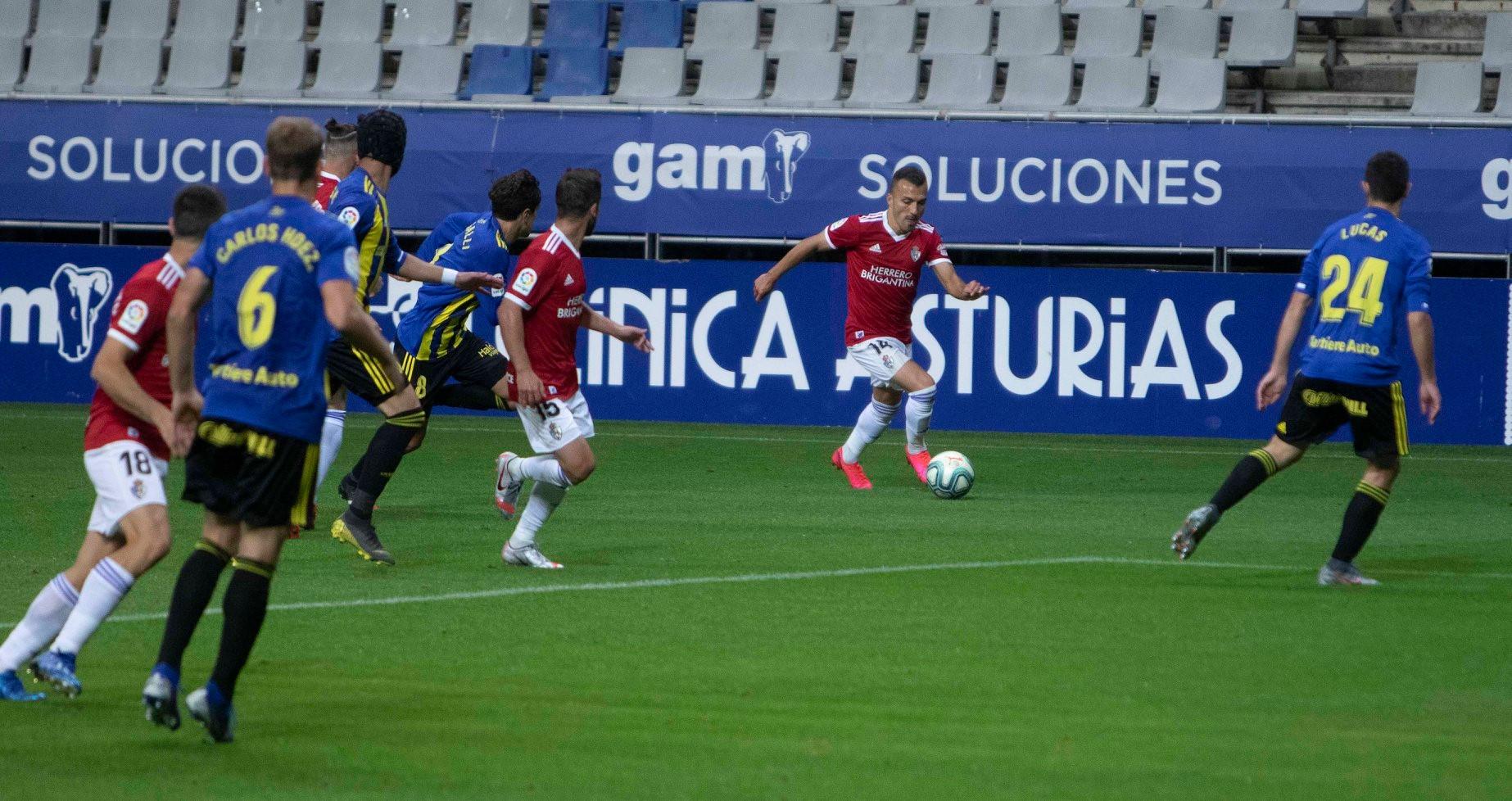 Real Oviedo 0 - SD Ponferradina 0. La Deportiva regresa de Oviedo con la sensación de haber dejado escapar los tres puntos 10