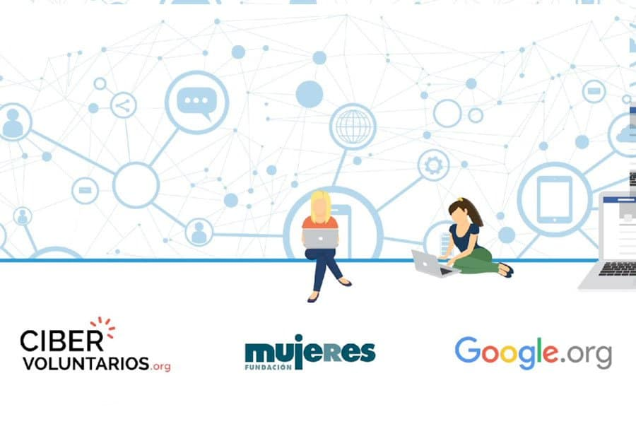 La fundación cibervoluntarios y el Ayuntamiento de Camponaraya anuncian talleres online gratuitos para mujeres 1