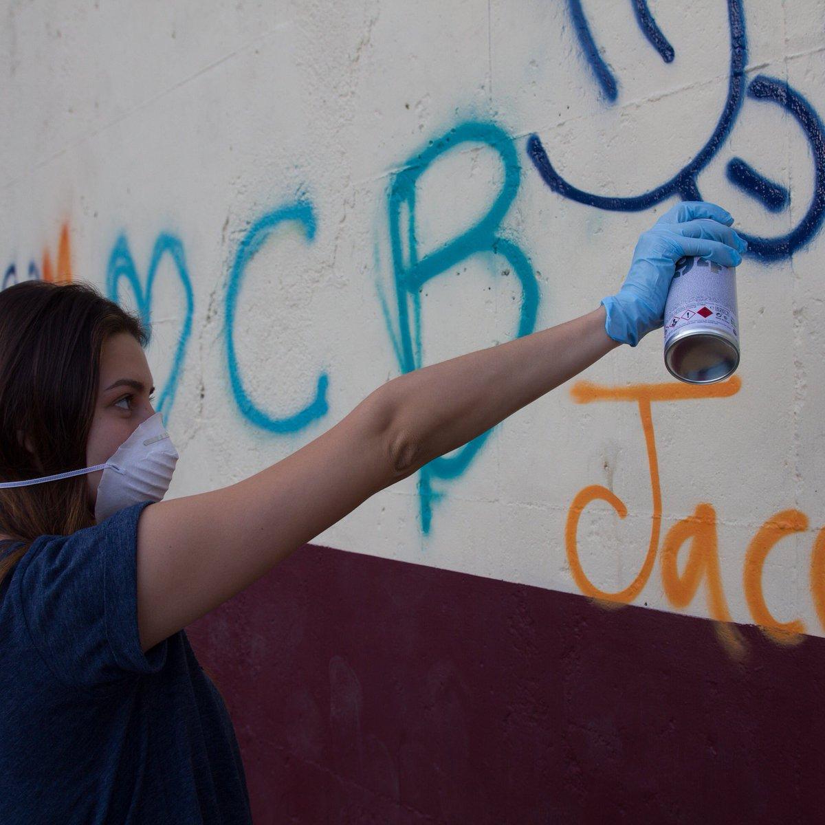 El Ayuntamiento comienza una campaña de eliminación de pintadas y grafitis en el Rañadero y el Casco Antiguo 1