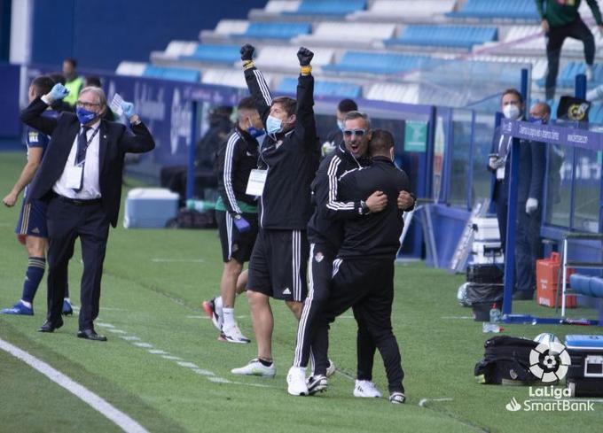 La Deportiva Ponferradina da un paso de gigante para consolidar su puesto en la Liga SmartBank 7